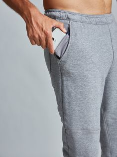 Rush Jogger - Fourlaps Mens Workout Pants, Joggers, Sweatpants, Mens Fitness, French Terry, Elastic Waist, Cashmere, Slim, Athletic