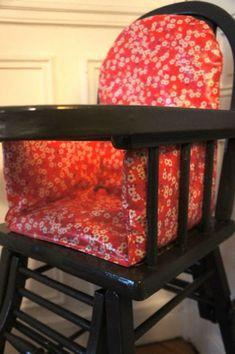 DIY Coussin chaise haute