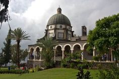 Mount of the Beatitudes, Capernum, Israel.  One of the most beautiful places I've ever been.