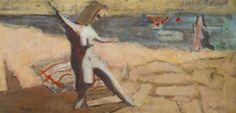 Seascape By Mark Rothko ,Circa  1940