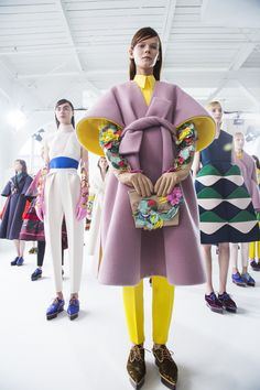 New York Fashion Week Fall/Winter 2016 Backstage - Delpozo | Teen Vogue
