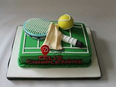 Torta Tennis 100 % Comestible.
