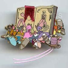 Cinderella's mice around a book