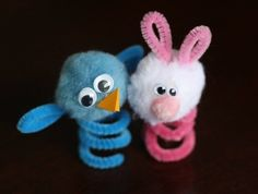 Easter Finger Puppets- quick and easy Easter crafts to get your little ones in the spirit.