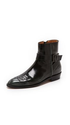 Maison Martin Margiela Tooled Leather Booties_ > drooling...