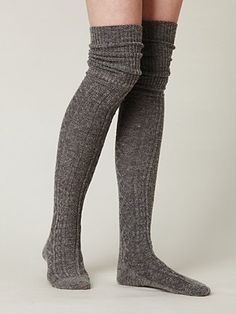 sweater over knee socks - Google Search