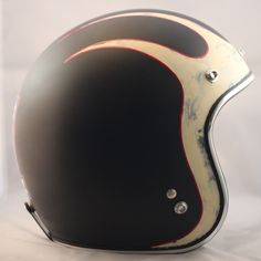 Distressed Harley Davidson One-Of-A-Kind Biltwell custom painted helmet. $269 Available here: http://sqi.sh/ewP
