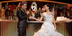 'The Hunger Games: Catching Fire - Caesar Flickerman and Katniss
