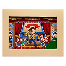 Woody ''Toy Story Mania'' Cel by Disney's Hollywood Studios Ink and Paint