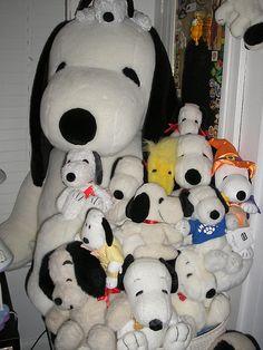 Snoopy plushs
