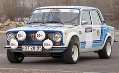 ra A Group 2 Oldtimer Lada 1600 from Hungary.