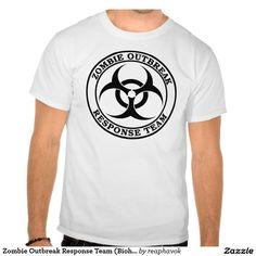 Zombie Outbreak Response Team (Biohazard) T-Shirt  120e408906a