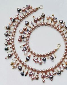 A great project idea for the left over pearls from other projects