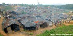 PHOTO: Rohingya refugee camp in Bangladesh 1. #Bangladesh #Birma / #Burma / #Myanmar #Rohingya