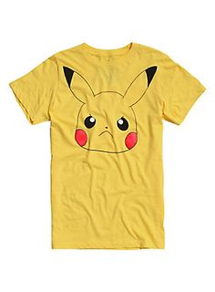 Pokemon Angry Pikachu T-Shirt #HotTopic