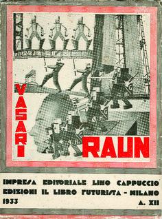 Ruggero Vasari, Raun, 1932. Copertina di Ivo Pannaggi