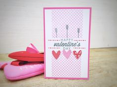 Happy Valentine's Day Card by Erin Lincoln for Papertrey Ink (January 2016)