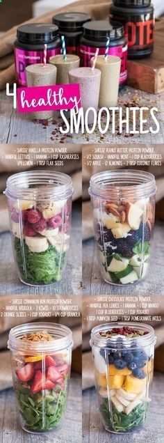 Try one of these refreshing, healthy smoothies! Just in time for the hot weather! Who knew being healthy could taste so good?! #shredzkitchen #weightloss #smoothiehttp://pin.shredz.com/blog