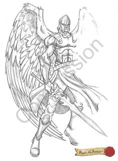 Top Archangel Michael Tattoo Outline Tattoo Tattoo's in Lists for . Archangel Michael Tattoo, Tattoo Outline, My Canvas, Tattoo Inspiration, Deviantart, Tattoos, Outlines, Tattoo Ideas, Top