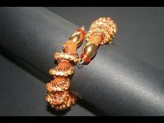 Bracciale con filo armonico - PerlineBijoux.com - YouTube