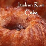I could use a little rum cake in my life right now.