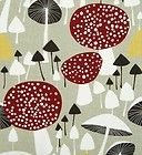 scandinavian fabric vtg retro mushroom DIY cushion curtains Almedahls in Crafts, Sewing & Fabric, Fabric Retro Fabric, Vintage Fabrics, Marimekko, Scandinavian Fabric, Scandinavian Pattern, Mushroom Art, Diy Curtains, Surface Pattern Design, Textile Patterns