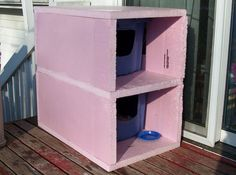 This tutorial will show how to make an Outdoor Cold Weather 'Cat Condo'. Our neighborhood seems to have more than our share of homeless cats and my wife tends to feed all that show up. During the winter months the weather can be wet and cold (with a fair amount of snow), so about seven years ago my wife asked me to create shelters for the feral cats. The shelters last throughout the winter months and I get rid of them each Spring at the end of the rainy season, about the time when many of…