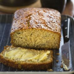 Gluten-Free Banana, Coconut and Lemon Loaf by Nadia Lim | NadiaLim.com