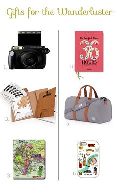 six (cheap) gifts for the wanderluster / reality and retrospect gifts guides