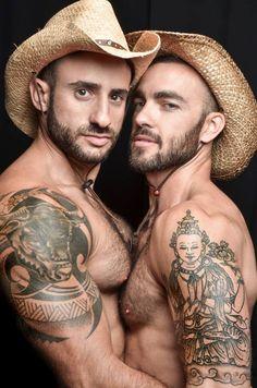 Eliad Cohen y Edgar Moreno