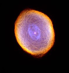 The Spirograph Nebula - SEPTEMBER 7, 2000: Glowing like a multi-faceted jewel, the planetary nebula IC 418 lies about 2,000 light-years from Earth in the constellation Lepus. In this picture, the Hubble telescope reveals some remarkable textures weaving through the nebula. Their origin, however, is still uncertain.