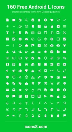 World's First Android L Icon Pack   Icons8