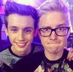 Troye Sivan and Tyler Oakley