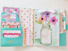 The oh so lovely Marion Smith Heart of Gold planner