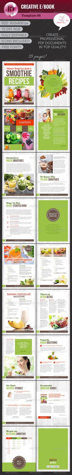 Creative eBook Template #ebook #design Download: http://graphicriver.net/item/creative-ebook-v06/8470810?ref=ksioks