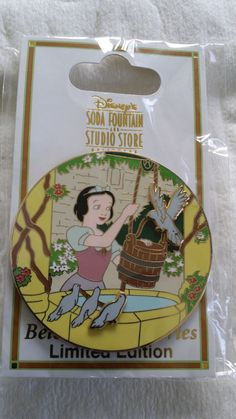 DSF - Beloved Tales Series - Snow White and the Seven Dwarfs Pin LE 300 Disney