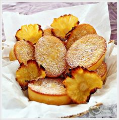 Pineapple Friands - Anncoo Journal