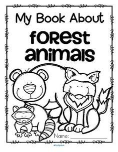 This is a set of activity printables about forest animals for preschool, pre-K and Kindergarten. Each page can be completed individually as an addition to a forest animal unit. The pages can be also be stapled together to make an activity coloring book. Forest Animal Crafts, Forest Animals, Woodland Animals, Forest Habitat, Animal Worksheets, Nocturnal Animals, Wild Animals, Preschool Themes, Preschool Camping Activities