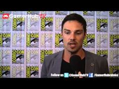 Jay Ryan Discusses The Evolution Of Beauty and the Beast At Comic Con 2013 - Gamerhubtv Interview - YouTube