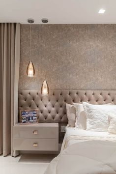 lovely dreamy master bedroom ideas and designs 43 ~ mantulgan.me lovely dreamy master bedroom ideas and designs 43 ~ mantulgan. Modern Luxury Bedroom, Master Bedroom Interior, Luxury Bedroom Design, Bedroom Furniture Design, Home Room Design, Master Bedroom Design, Contemporary Bedroom, Luxurious Bedrooms, Home Bedroom