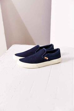 Vans Classic Knit Suede Slip-On Womens Sneaker - Urban Outfitters Vans  Classic 6f0ccce93