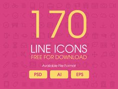 Line Icons  by Creative Boxx™