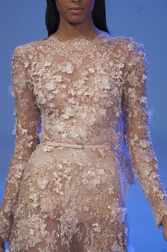 Elie Saab at Couture Spring 2014 - StyleBistro