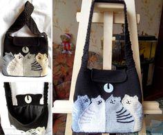 Crochet Cat Bag Free Pattern