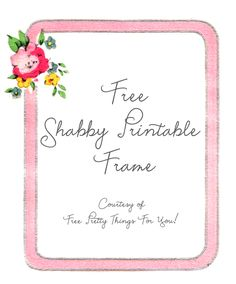 Free Diy Invitation Printable