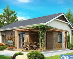 Proiect-de-casa-mica-Parter-136011-2 House Colors, Home Fashion, Rustic, House Styles, Outdoor Decor, Modern, Home Decor, Design, Inspirational Quotes