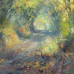 "Rex Preston - ""Sunny Autumn Lane"""