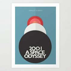 2001 a Space Odyssey - Stanley Kubrick Poster Art Print Promoters - $19.76