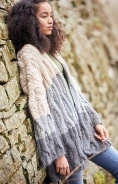 c99278e3ca2 Dee | Knitrowan Rowan Knitting Patterns, Knitting Yarn, Oversized Cardigan,  Knit Cardigan,