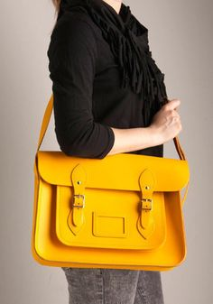 Loving the whole success story of the Cambridge Satchel company. Good on them.